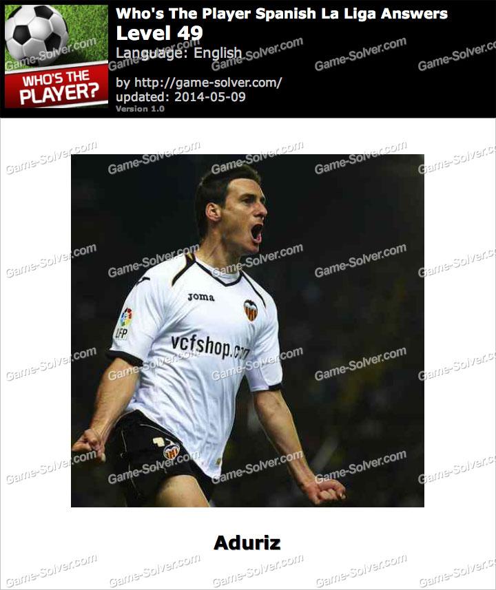 Who's The Player Spanish La Liga Level 49
