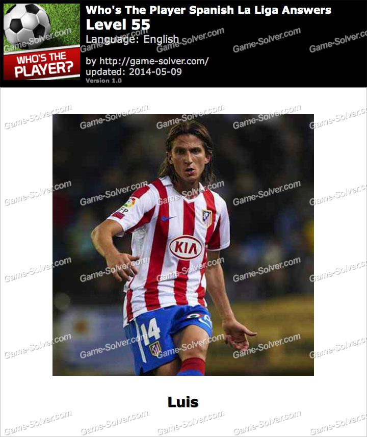 Who's The Player Spanish La Liga Level 55