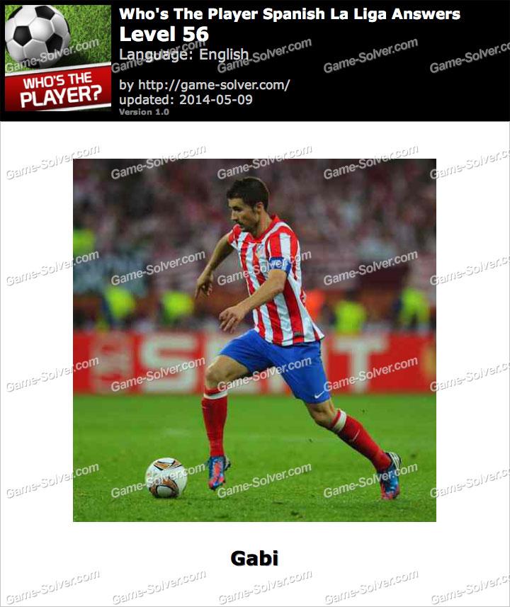 Who's The Player Spanish La Liga Level 56