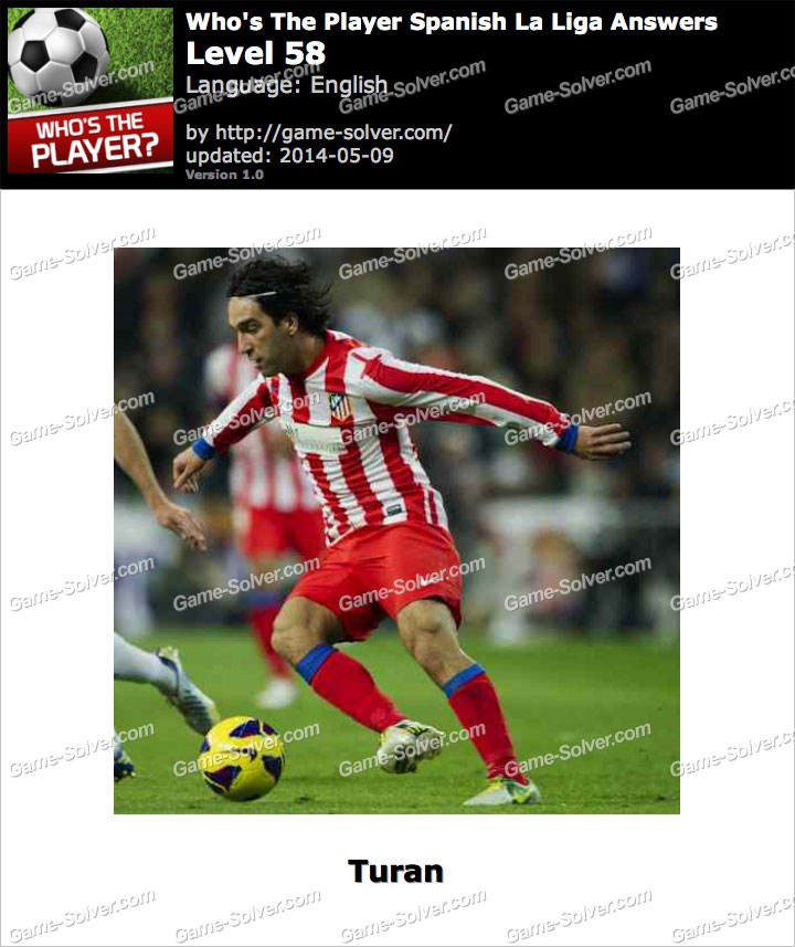 Who's The Player Spanish La Liga Level 58