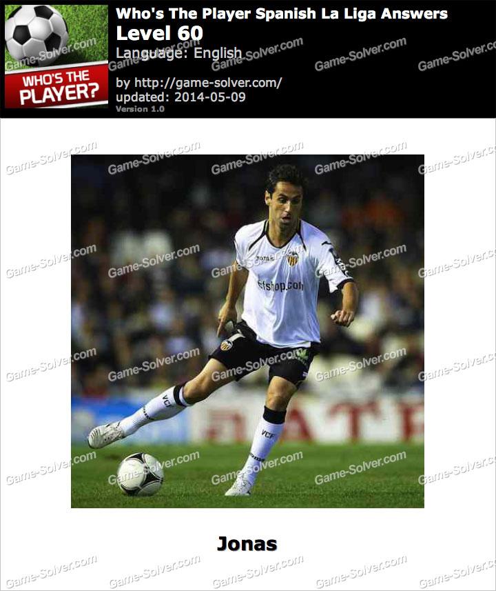 Who's The Player Spanish La Liga Level 60