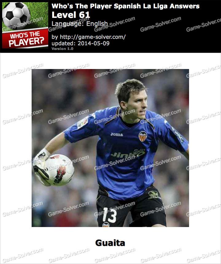 Who's The Player Spanish La Liga Level 61