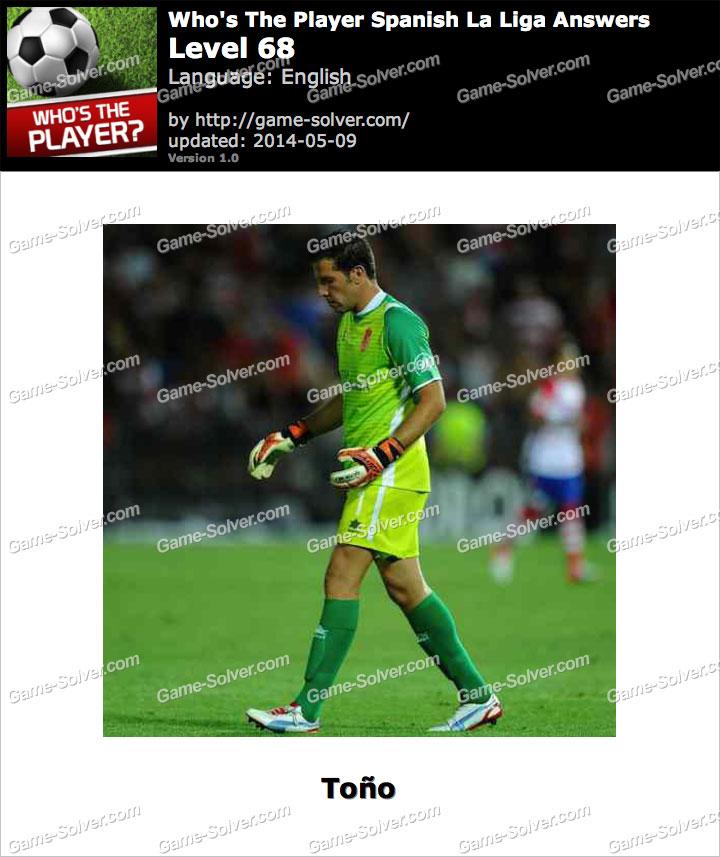 Who's The Player Spanish La Liga Level 68