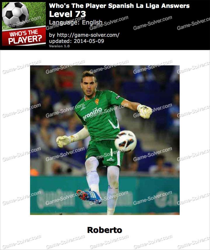 Who's The Player Spanish La Liga Level 73