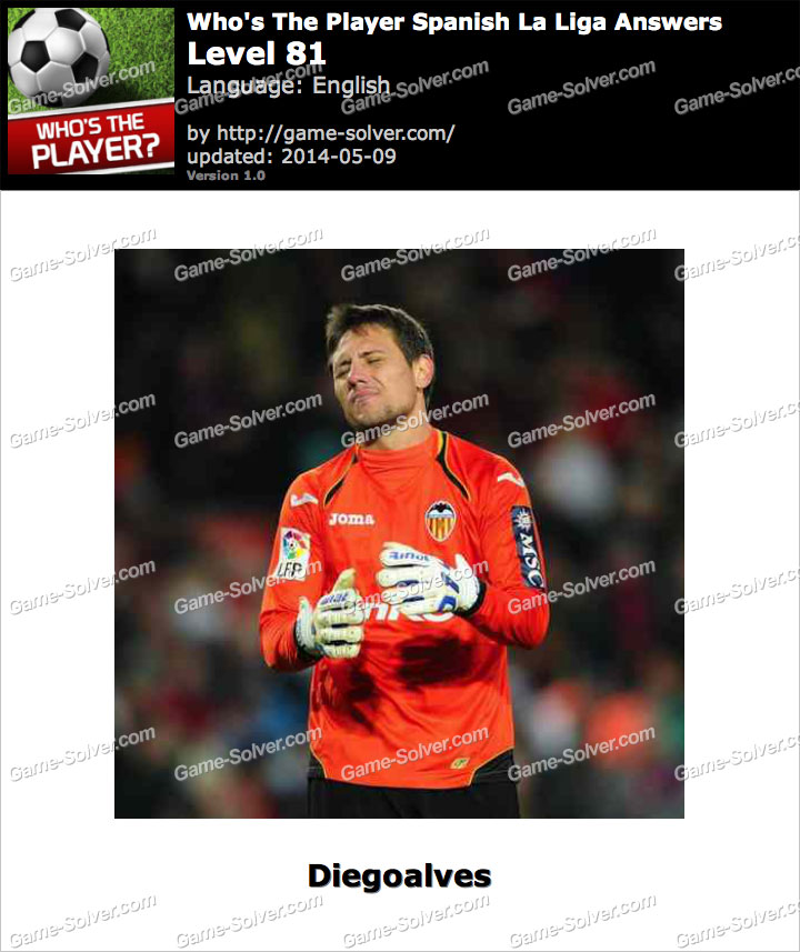 Who's The Player Spanish La Liga Level 81