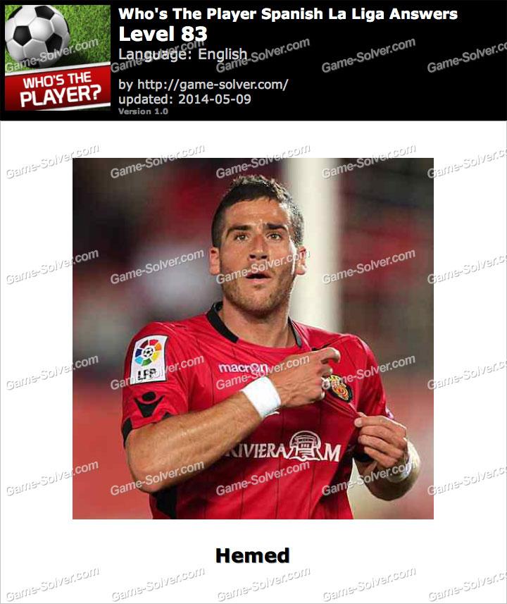 Who's The Player Spanish La Liga Level 83
