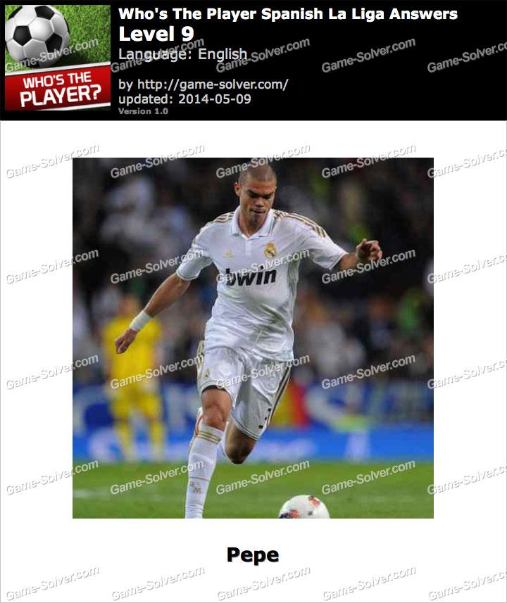 Who's The Player Spanish La Liga Level 9