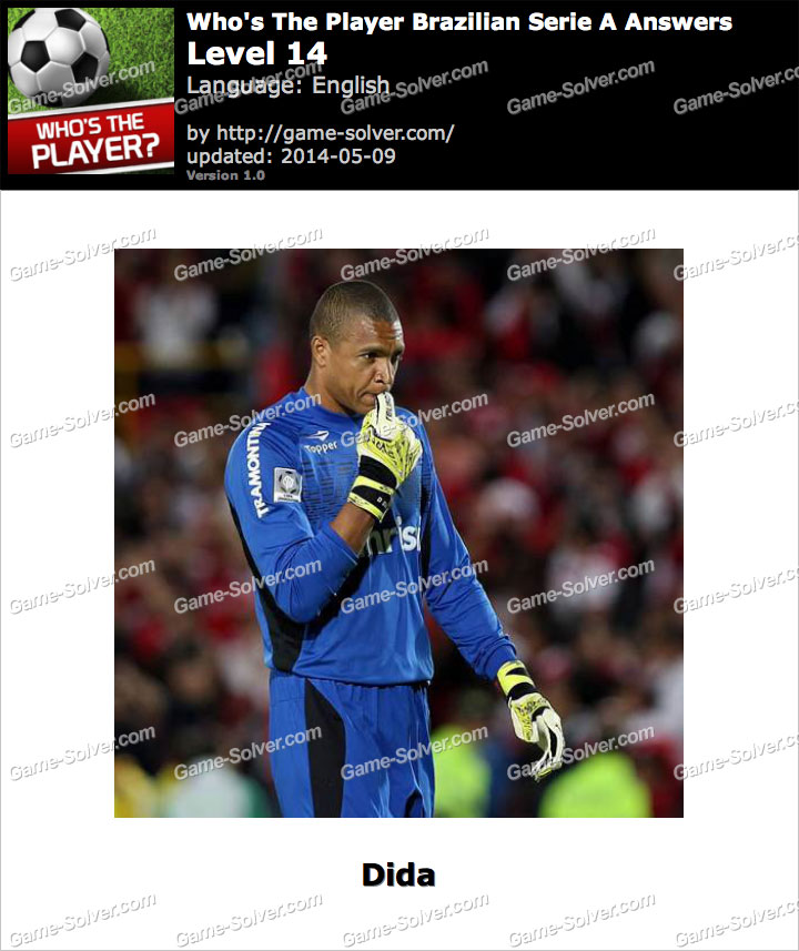 Who's The Player Brazilian Serie A Level 14