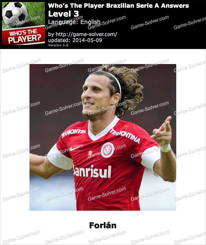 Who's The Player Brazilian Serie A Level 3