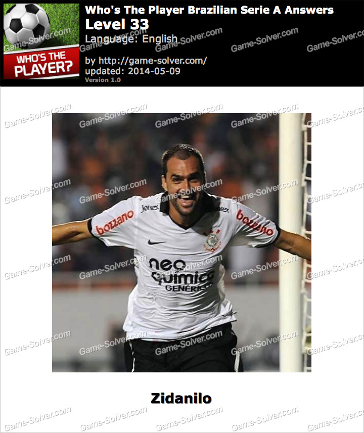 Who's The Player Brazilian Serie A Level 33