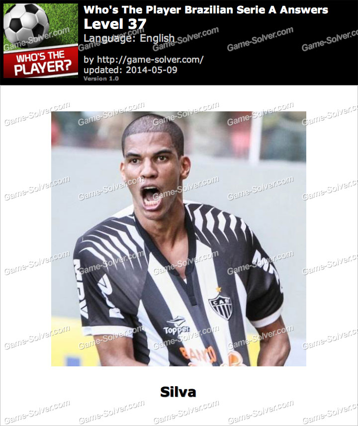 Who's The Player Brazilian Serie A Level 37