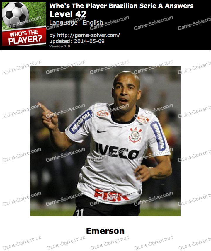 Who's The Player Brazilian Serie A Level 42