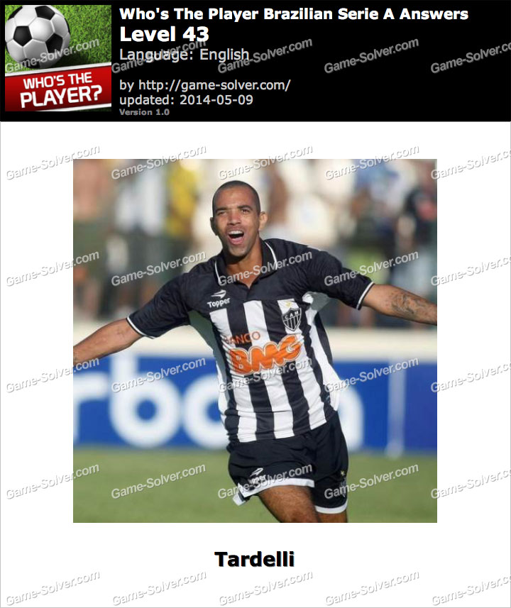 Who's The Player Brazilian Serie A Level 43