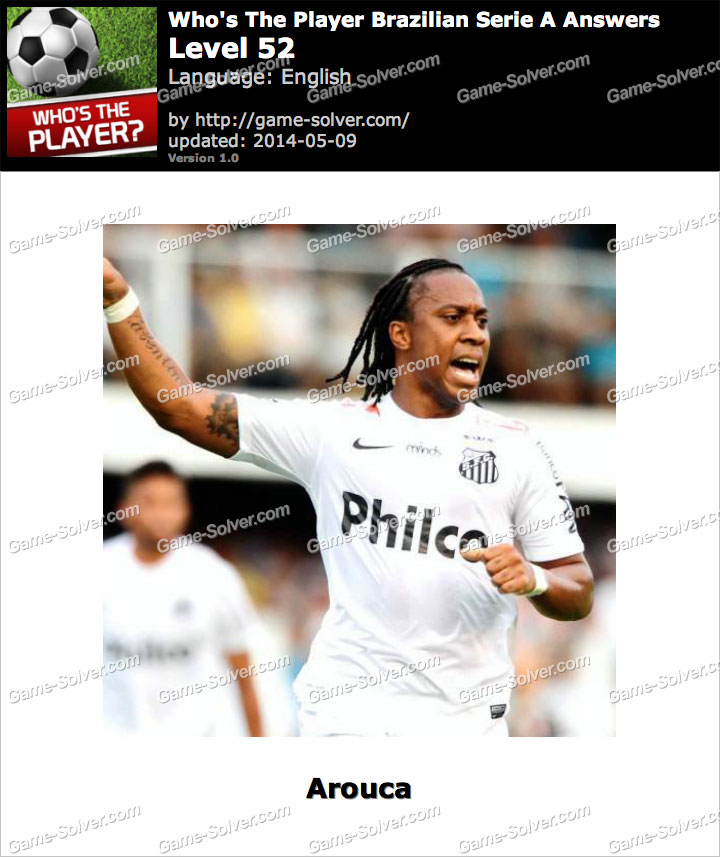 Who's The Player Brazilian Serie A Level 52