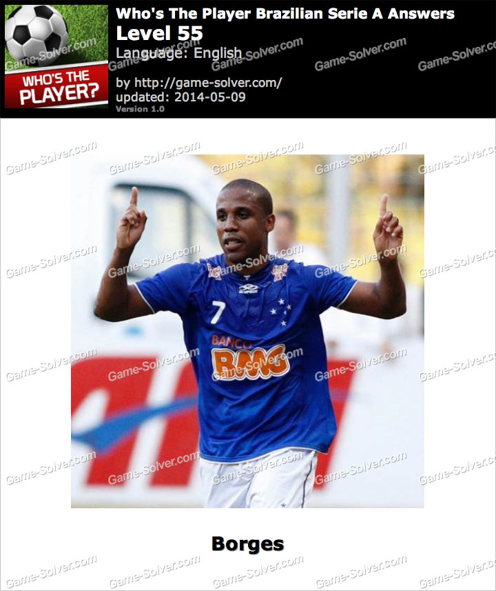 Who's The Player Brazilian Serie A Level 55