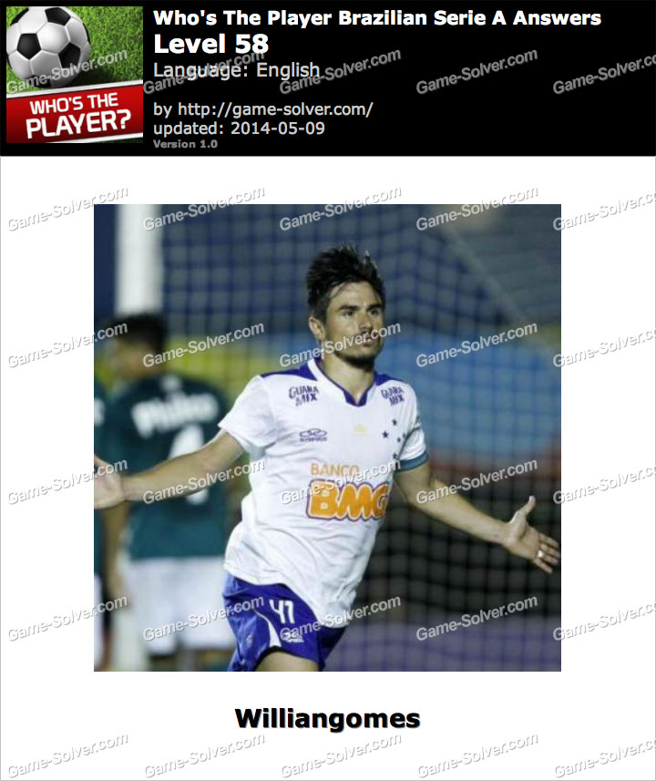 Who's The Player Brazilian Serie A Level 58