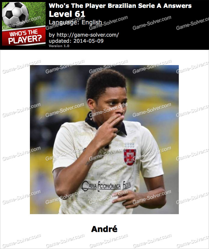 Who's The Player Brazilian Serie A Level 61