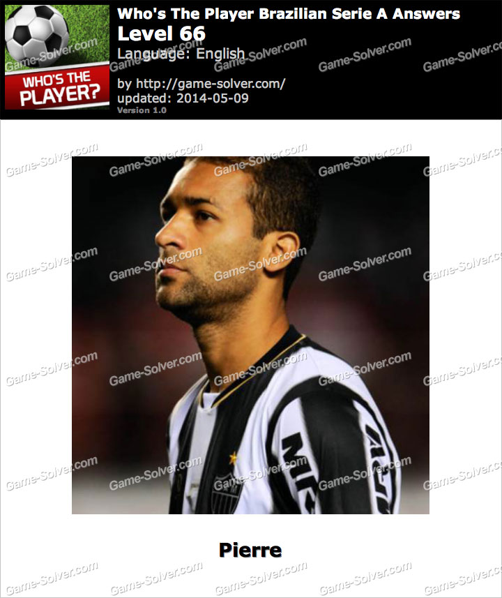 Who's The Player Brazilian Serie A Level 66