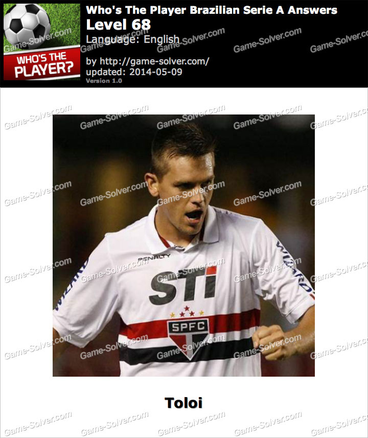 Who's The Player Brazilian Serie A Level 68