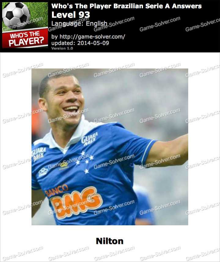 Who's The Player Brazilian Serie A Level 93