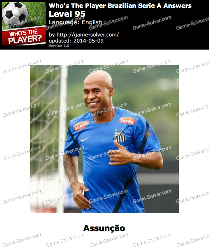 Who's The Player Brazilian Serie A Level 95