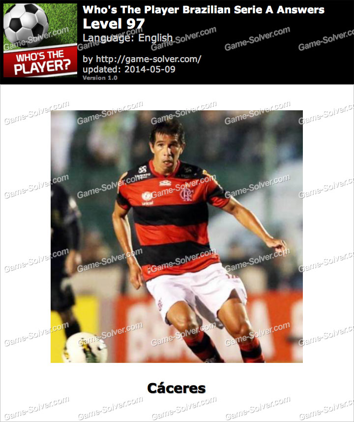 Who's The Player Brazilian Serie A Level 97