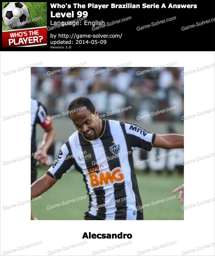 Who's The Player Brazilian Serie A Level 99