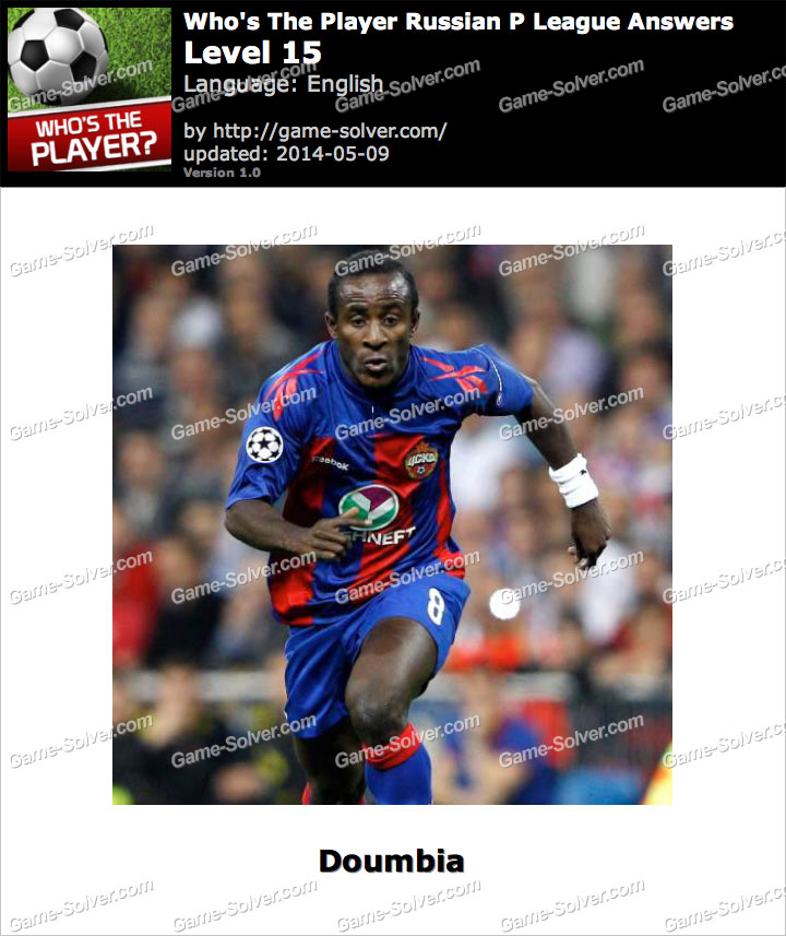 Who's The Player Russian P League Level 15