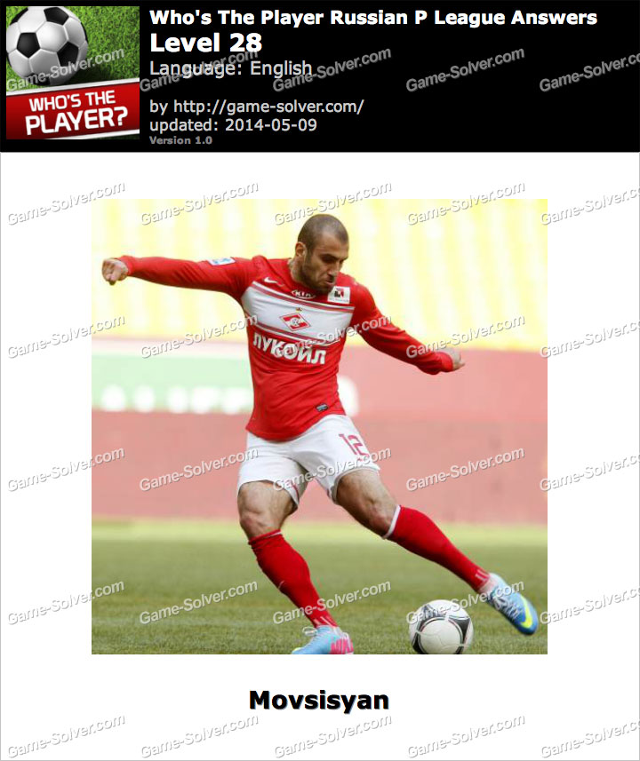Who's The Player Russian P League Level 28