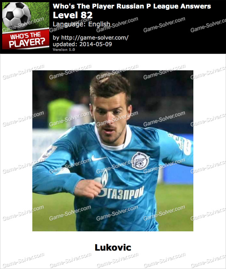 Who's The Player Russian P League Level 82