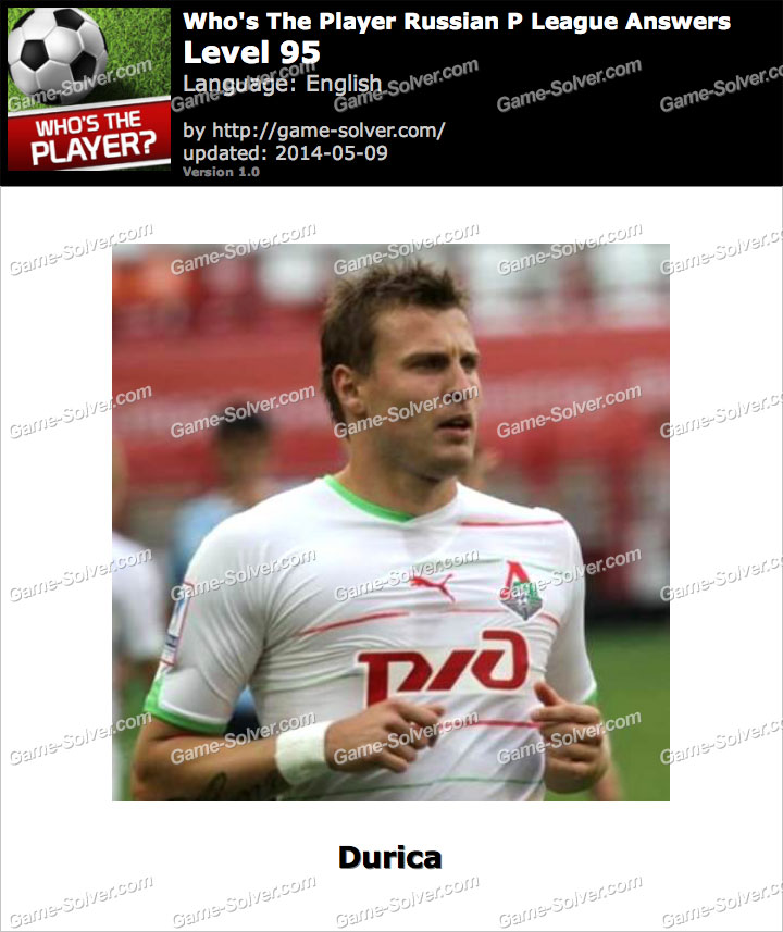 Who's The Player Russian P League Level 95