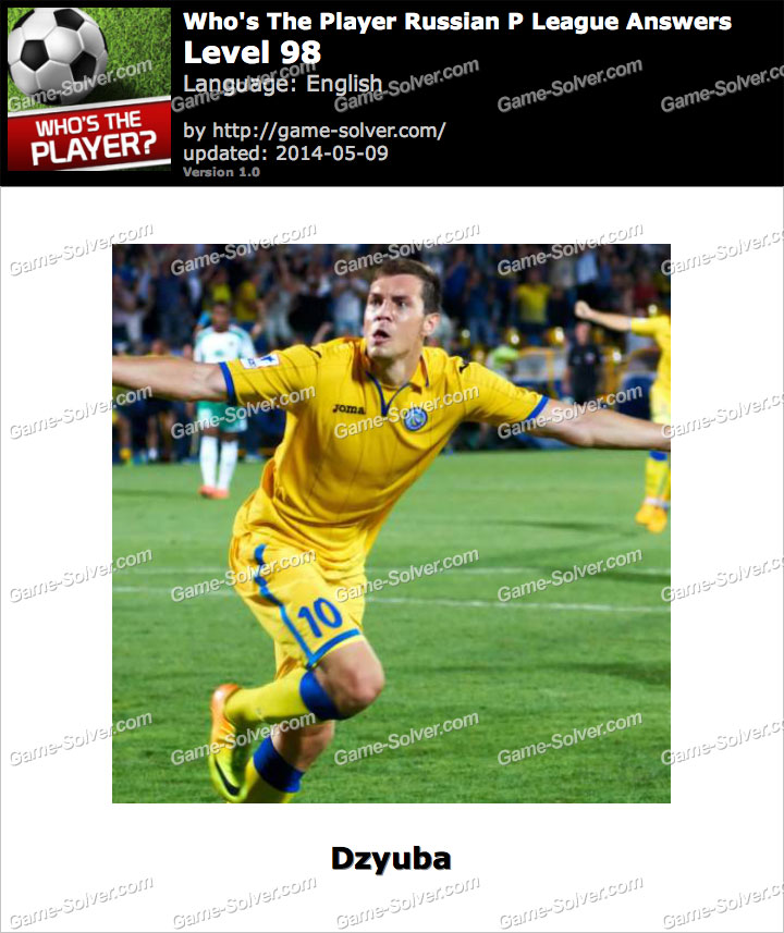 Who's The Player Russian P League Level 98