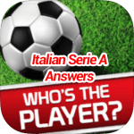 Who's The Player Italian Serie A Answers
