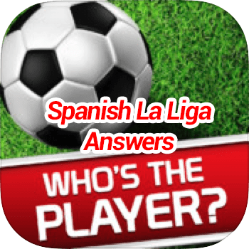 Whos The Player Spanish La Liga Answers
