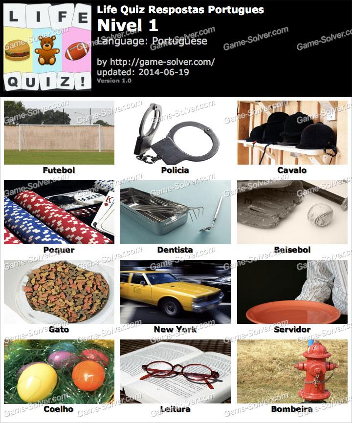 Life Quiz Portugues Nivel 1