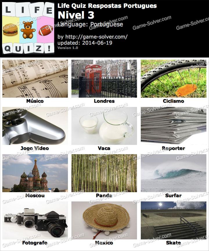 Life Quiz Portugues Nivel 3