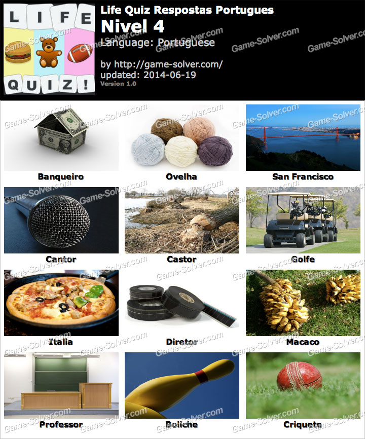 Life Quiz Portugues Nivel 4