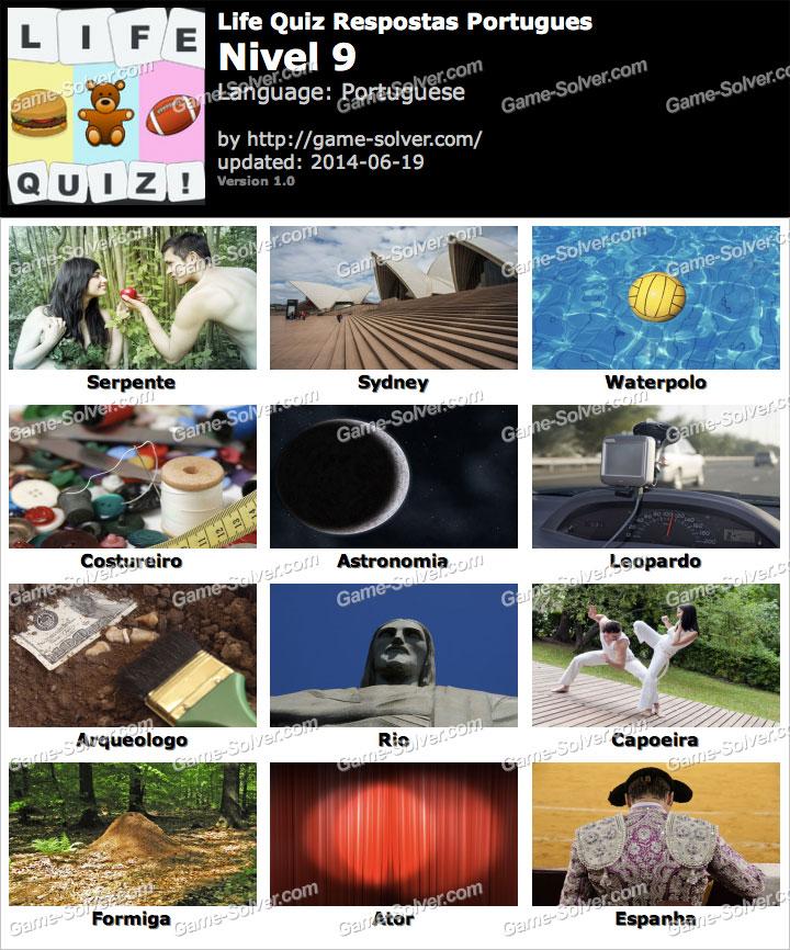 Life Quiz Portugues Nivel 9