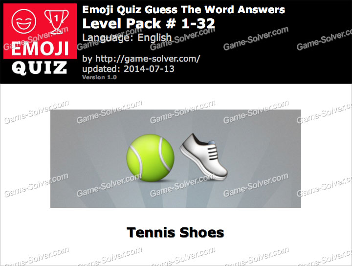Emoji Quiz Guess the Word Level Pack 1-32