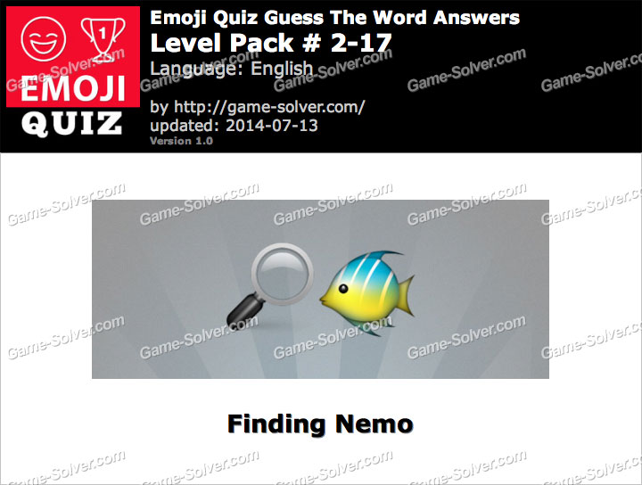 Emoji Quiz Guess the Word Level Pack 2-17