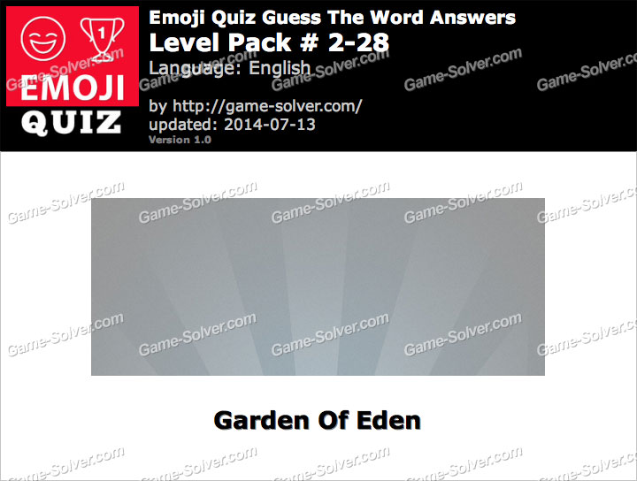 Emoji Quiz Guess the Word Level Pack 2-28