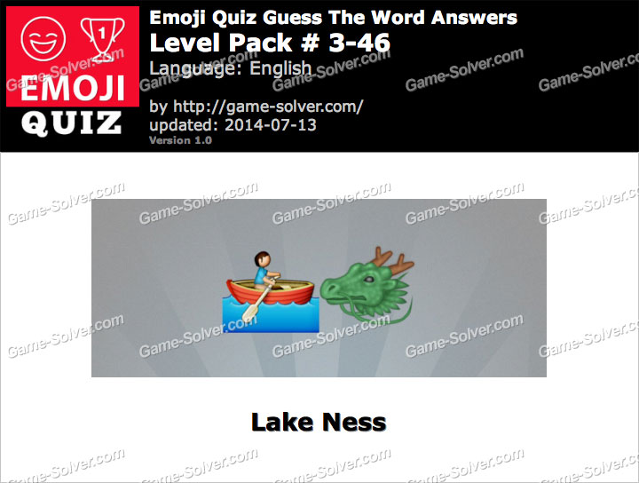 Emoji Quiz Guess the Word Level Pack 3-46
