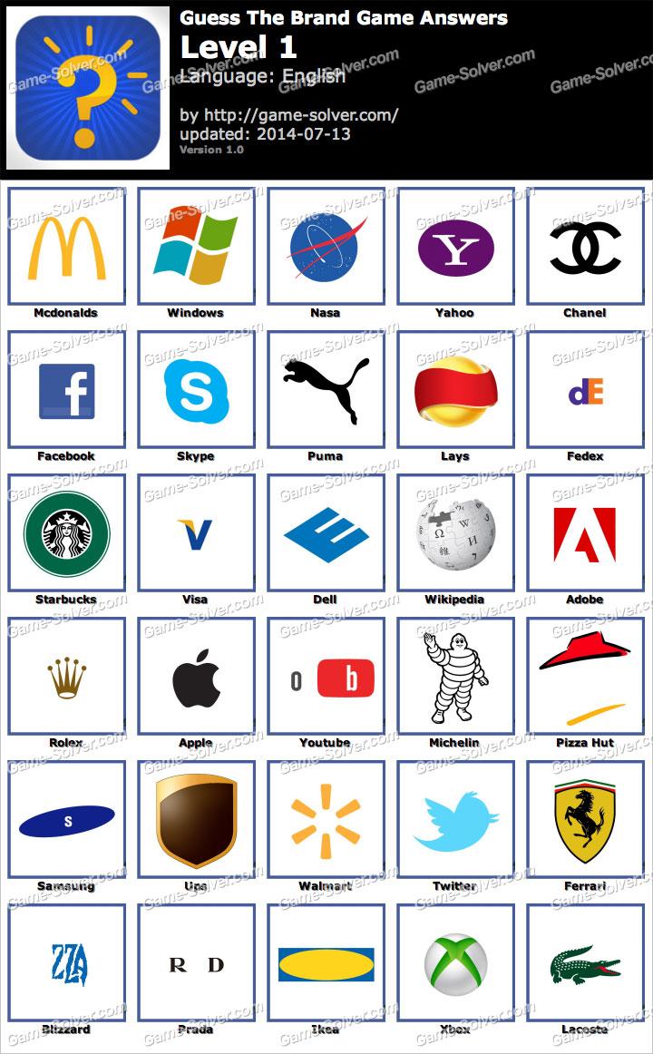 Logo game guess the brand bonus fashion doors geek - Logo Game Guess The Brand Bonus Fashion 2 Doors Geek