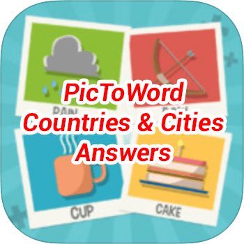 PicToWord Countries Cities Answers