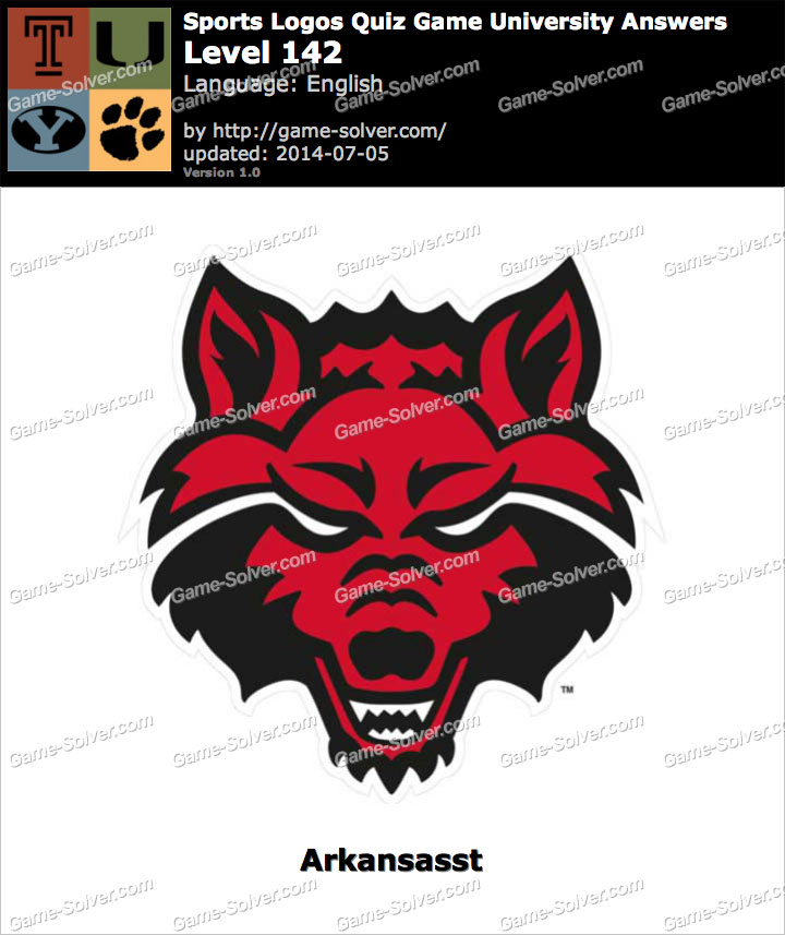 Sports Logos Quiz Game University Level 142