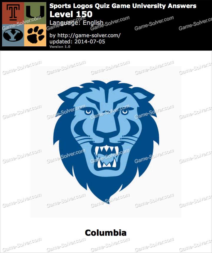 Sports Logos Quiz Game University Level 150