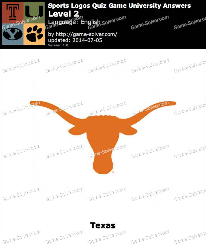 Sports Logos Quiz Game University Level 2