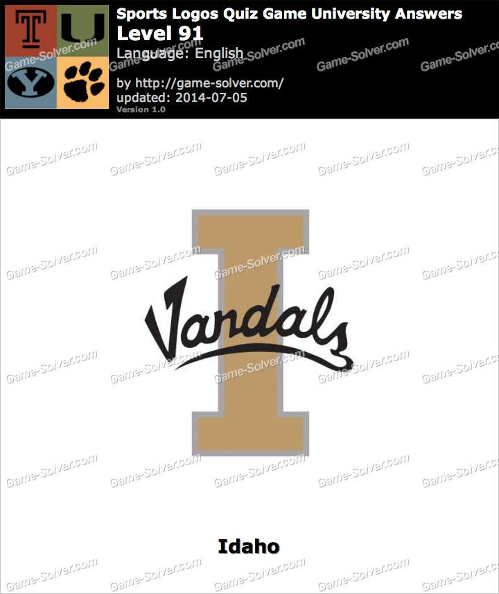 Sports Logos Quiz Game University Level 91