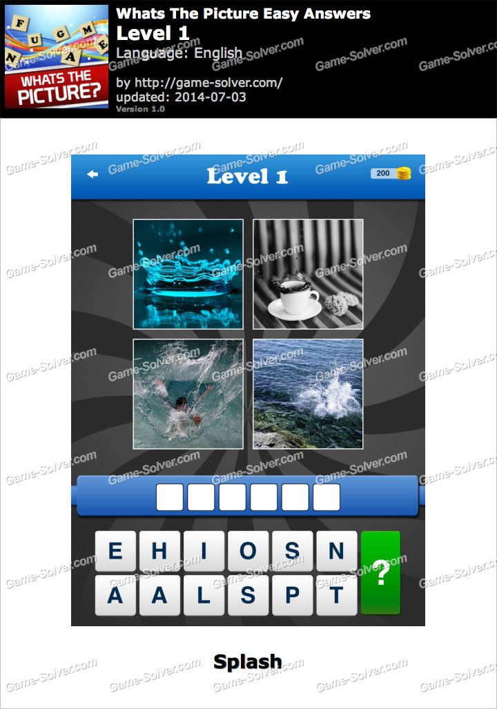 Whats The Picture Easy Level 1