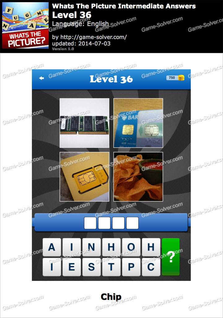 Whats The Picture Intermediate Level 36